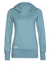Ragwear Chelsea Long Sleeved Top Teal Green Petrol