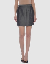 Alberto Biani Mini Skirts Lead