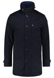 G Star Gstar Garber Trench Short Coat Mazarine Blue Dark Blue