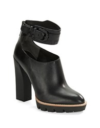 Kenneth Cole Otto Leather Pumps Black