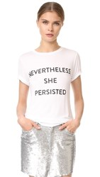 Prabal Gurung Nevertheless She Persisted Tee White