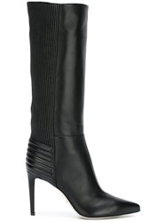 Sergio Rossi Knee Length Boots Black