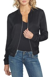 1.State Women's Satin Bomber Jacket