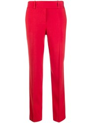 Ermanno Scervino Cropped Trousers Red