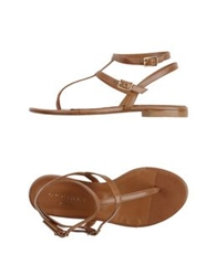 Orciani Thong Sandals Beige