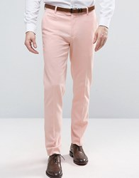 Asos Skinny Trouser In Pink Evening Sand
