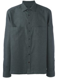 Joseph 'Cardington Flannel' Shirt Grey