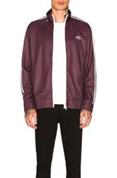 Adidas By Alexander Wang Track Jacket In Red Stripes Red Stripes