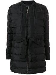 Moncler Gamme Rouge Chic Puffer Coat Black