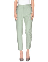 Re Hash Trousers Casual Trousers Women Light Green