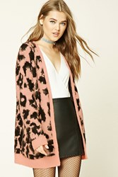 Forever 21 Leopard Print Cardigan