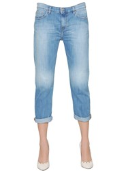 Iro Boyfriend Cotton Denim Jeans Blue