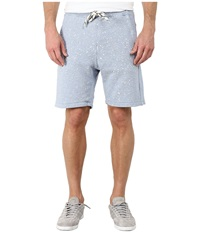 G Star Splatter Sweat Shorts Pop Blue Heather Men's Shorts