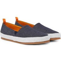 Mulo Denim Espadrilles Blue