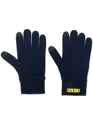 Kenzo Badge Gloves