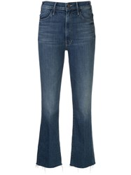 Mother Hustler Flared Fitted Jeans 60