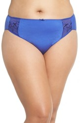 Elomi Plus Size 'Cate' Briefs Royal