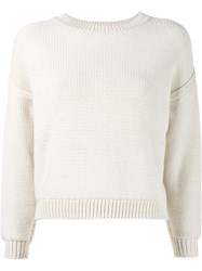 Vince Drop Shoulder Jumper Nude And Neutrals
