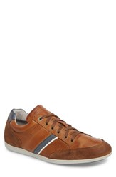 Cycleur De Luxe Bahamas Low Top Sneaker Cognac Leather