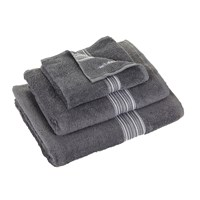 Calvin Klein Riviera Charcoal Towel Guest