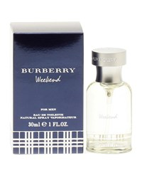 Burberry Weekend For Men Eau De Toilette Spray 1.0 Oz. 30 Ml