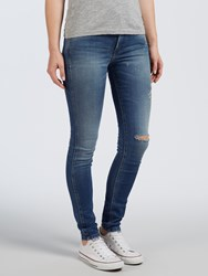 Calvin Klein High Rise Sculpted Skinny Jeans