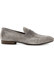 Henderson Fusion Penny Loafers Grey