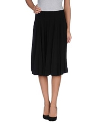 Plein Sud Jeans Plein Sud Knee Length Skirts Black
