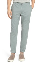 Bonobos Men's Slim Fit Washed Stretch Cotton Chinos Eucalyptus