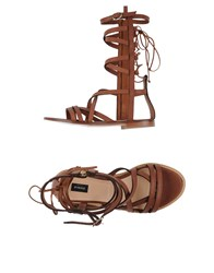 Pinko Black Footwear Sandals Women