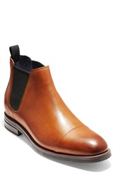 Cole Haan Wagner Grand Chelsea Boot Mesquite Leather