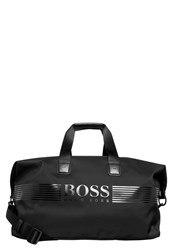 Hugo Boss Green Pixel Sports Bag Black