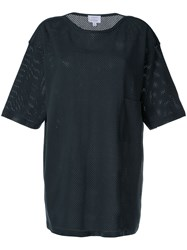 Christophe Lemaire Perforated T Shirt Blue