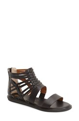 Women's Bc Footwear 'Half Pint' Gladiator Sandal Black Faux Leather