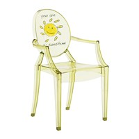 Kartell Children's Lou Lou Ghost Chair Sun