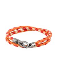 Tod's Braided Double Wrap Bracelet
