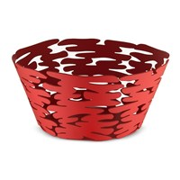 Alessi Barket Round Basket Red
