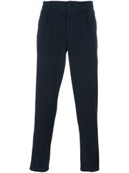 Aspesi Regular Trousers Blue