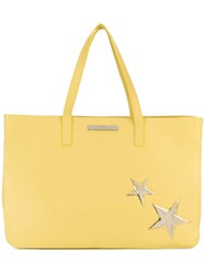 Marc Ellis Large Star Tote Women Leather One Size Yellow Orange