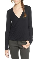 Lush Women's Surplice Tee