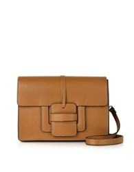 Le Parmentier Cognac Leather Shoulder Bag