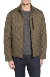 Cole Haan Quilted Jacket Olive