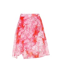 Carven Printed Skirt Multicoloured