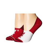 Stance Bama Maroon Women's Crew Cut Socks Shoes Red