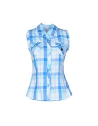 Duck Farm Shirts Shirts Women Azure