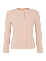 Hugo Boss Longsleeve Collarless Jacket Blush