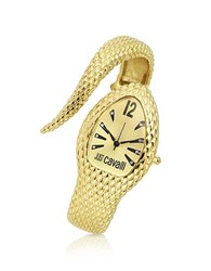 Just Cavalli Poison Golden Serpent Bracelet Watch