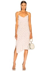 Ag Adriano Goldschmied Gia Dress In Pink