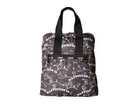 Le Sport Sac Everyday Backpack Happiness All Over Backpack Bags Brown