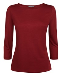 Jaeger Essential Jersey Top Red